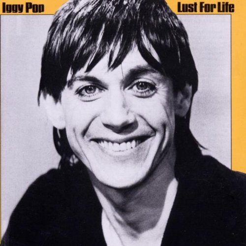 Iggy Pop Lust For Life cover art