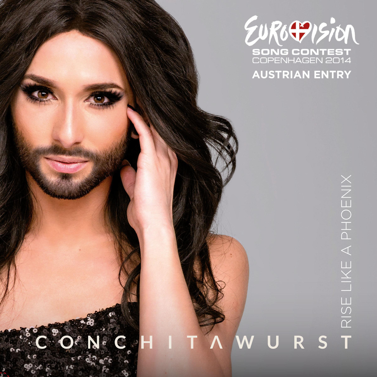 Conchita Wurst Rise Like A Phoenix cover art