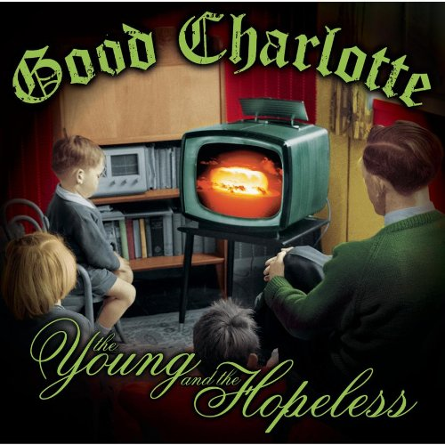 Good Charlotte Riot Girl cover art