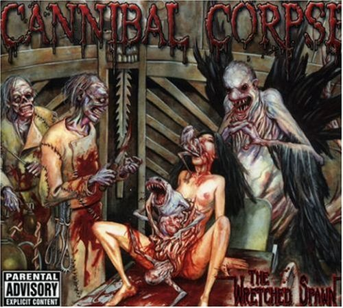Cannibal Corpse The Wretched Spawn cover art