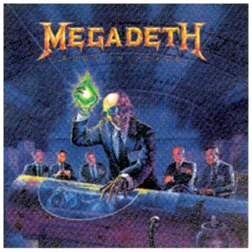 Megadeth Hangar 18 cover art