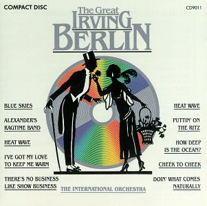 Irving Berlin All Alone cover art