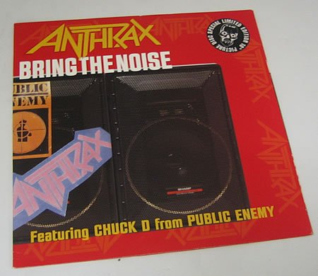 Anthrax Bring The Noise cover art