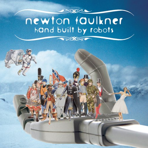 Newton Faulkner Ageing Superhero cover art
