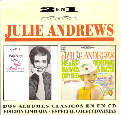 Julie Andrews I Feel Pretty cover art