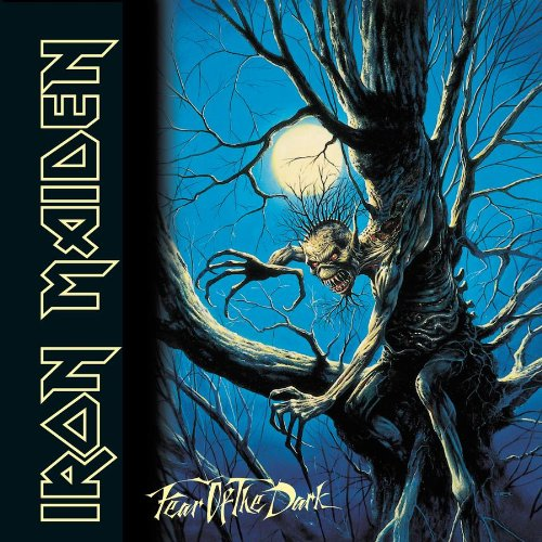Iron Maiden Fear Of The Dark cover art