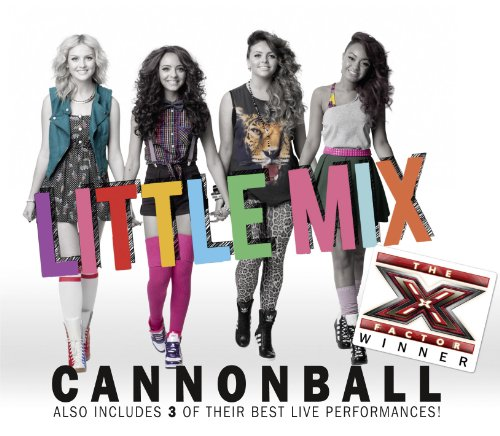 Little Mix Cannonball cover art