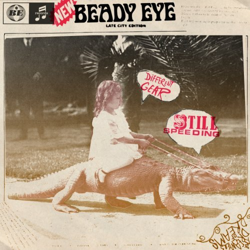 Beady Eye The Roller cover art