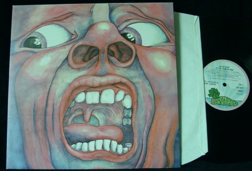 King Crimson 21st Century Schizoid Man cover art