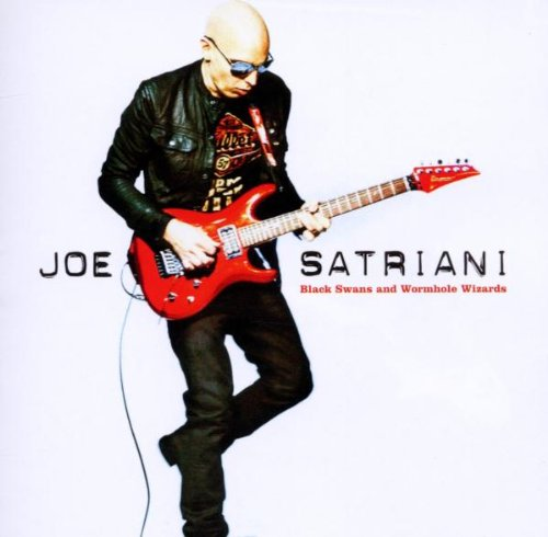 Joe Satriani Wormhole Wizards cover art