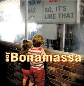 Joe Bonamassa My Mistake cover art