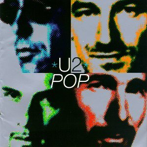 U2 Staring At The Sun cover art