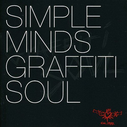 Simple Minds Rockets cover art