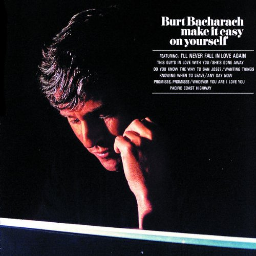 Burt Bacharach I'll Never Fall In Love Again cover art