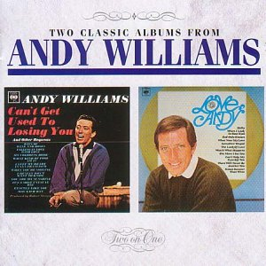 Andy Williams Can't Get Used To Losing You cover art