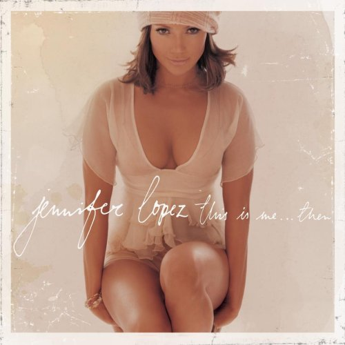 Jennifer Lopez I'm Glad cover art