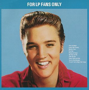 Elvis Presley My Baby Left Me cover art