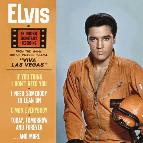 Elvis Presley I Need Somebody To Lean On cover art