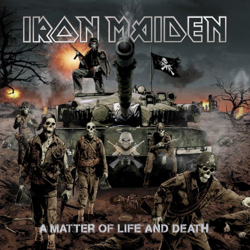 Iron Maiden These Colours Don't Run cover art