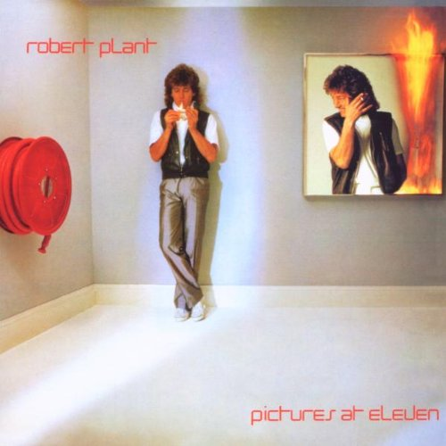 Robert Plant Burning Down One Side cover art