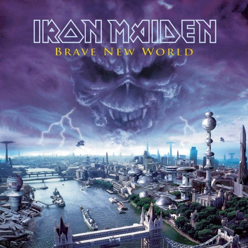 Iron Maiden The Thin Line Between Love And Hate cover art