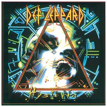 Def Leppard Pour Some Sugar On Me cover art