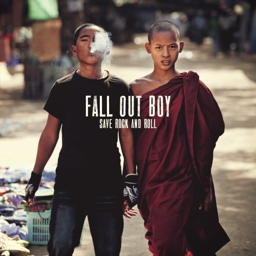 Fall Out Boy Young Volcanoes cover art