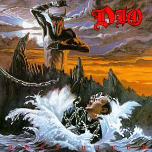 Dio Rainbow In The Dark cover art