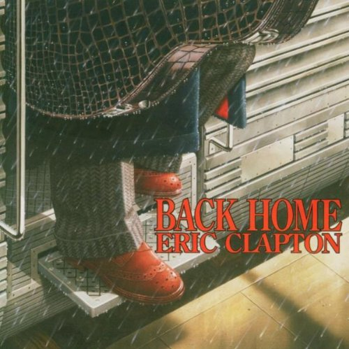 Eric Clapton Back Home cover art