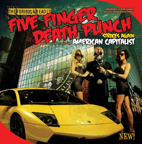 Five Finger Death Punch Generation Dead cover art