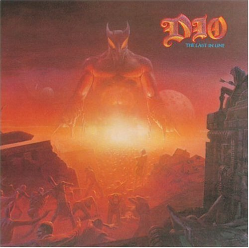 Dio The Last In Line cover art