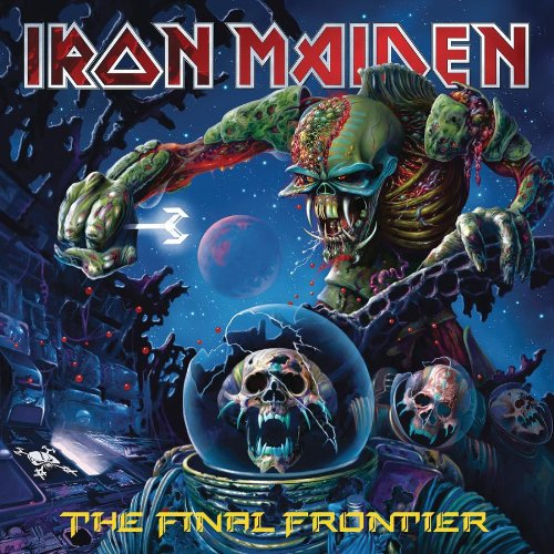 Iron Maiden Satellite 15 - The Final Frontier cover art