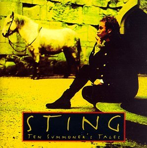 Sting She's Too Good For Me cover art