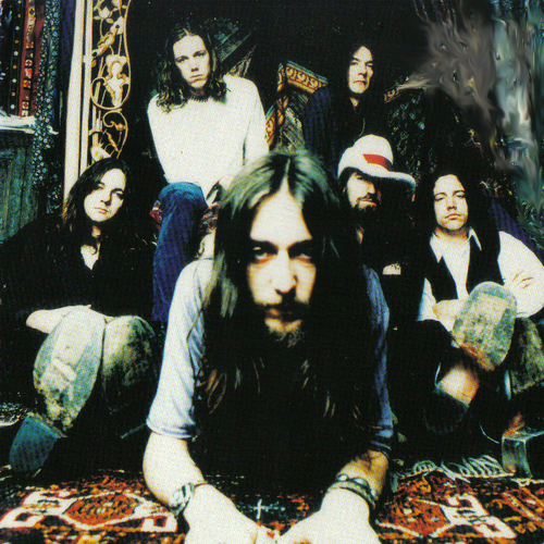 The Black Crowes Sometimes Salvation cover art
