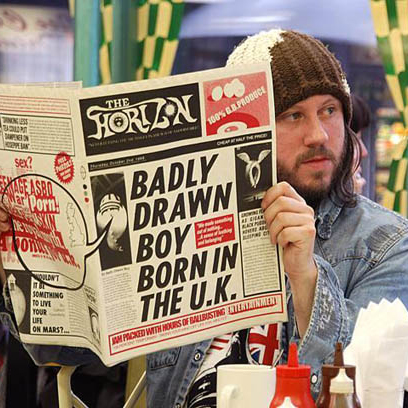 Badly Drawn Boy Donna And Blitzen cover art