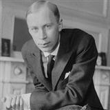 Evening sheet music by Sergei Prokofiev