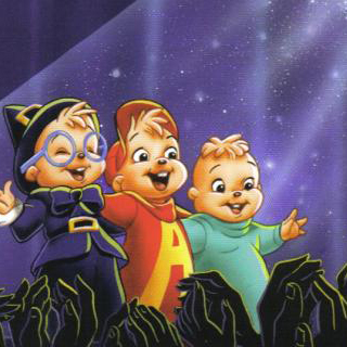 The Chipmunks The Chipmunk Song cover art