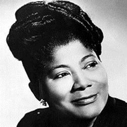(There'll Be) Peace In The Valley (For Me) sheet music by Mahalia Jackson