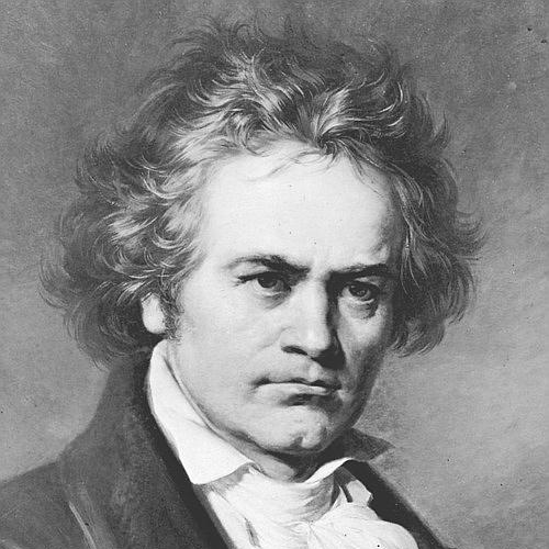Ludwig van Beethoven Allegretto from Sonata Op. 14, No. 1 cover art