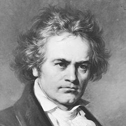 Sonata in G major Op. 79, 2nd Movement sheet music by Ludwig van Beethoven