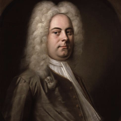 George Frideric Handel Air cover art