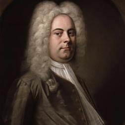 Air sheet music by George Frideric Handel