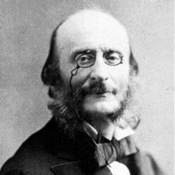 Elle A Fui, La Tourterelle sheet music by Jacques Offenbach