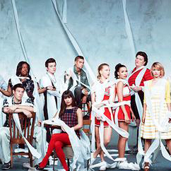 Glee Cast Lean On Me cover art