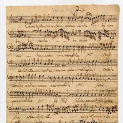 Minuet sheet music by Johann Philipp Krieger