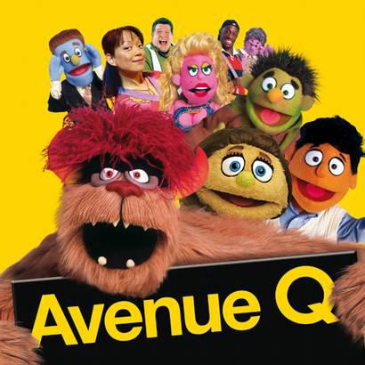 Avenue Q There's A Fine, Fine Line cover art
