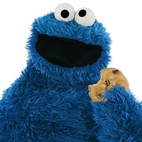 "The Cookie Monster ""C"" Is For Cookie cover art"