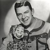 A Howdy Doody Christmas (from The Howdy Doody Show) sheet music by Edward George Kean