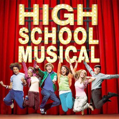High School Musical We're All In This Together cover art