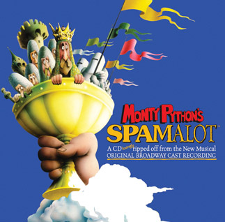 Monty Python's Spamalot Find Your Grail cover art